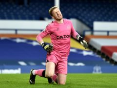 Jordan Pickford has been sidelined by an abdominal injury (Peter Powell/PA)