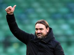 Daniel Farke has guided Norwich to an instant return to the Premier League (Nigel French/PA)