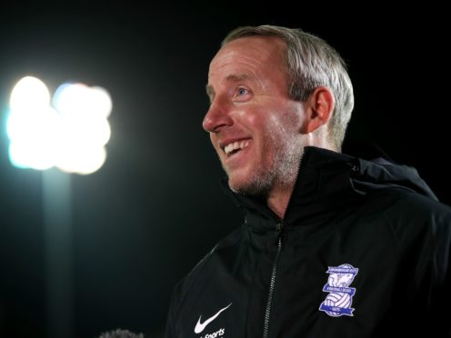 Lee Bowyer's Birmingham boosted their survival hopes (Nick Potts/PA)