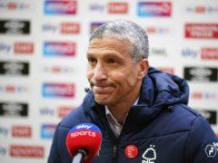 Chris Hughton's side were beaten by Huddersfield (John Walton/PA)