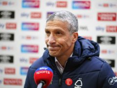 Chris Hughton was delighted with Forest's performance against QPR (John Walton/PA)
