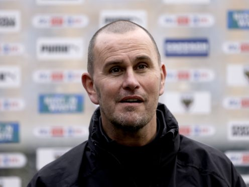 AFC Wimbledon manager Mark Robinson could have an unchanged squad to face Portsmouth (Steven Paston/PA)