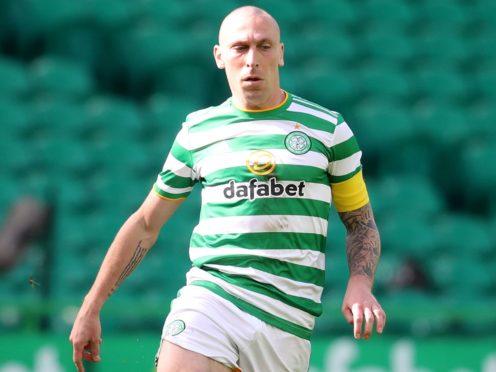 Celtic's Scott Brown will be Aberdeen player/coach next season (Andrew Milligan/PA)