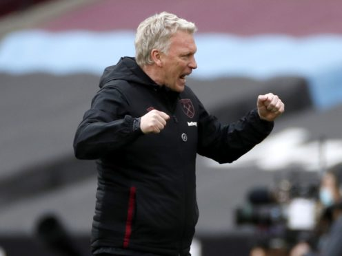 David Moyes has guided West Ham into Champions League contention (Paul Childs/PA)