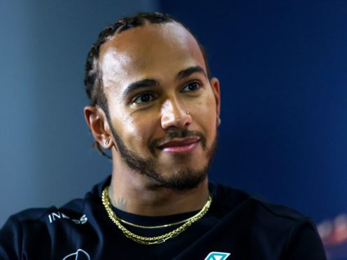 Lewis Hamilton is this year bidding to win an eighth world title (David Davies/PA)
