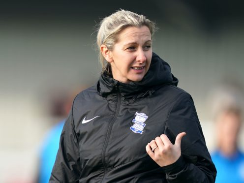 Carla Ward says the issues at Birmingham are being addressed (John Walton/PA)