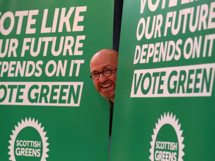 Patrick Harvie said the Alba Party is no threat to Green votes (Andrew Milligan/PA)