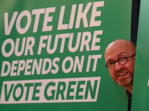 Scottish Green Party co-leader Patrick Harvie called for the end of oil and gas exploration subsidies (Andrew Milligan/PA)