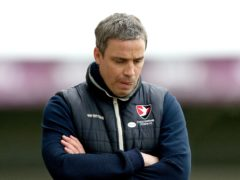 Michael Duff was unhappy with his side's performance (Tim Markland/PA)