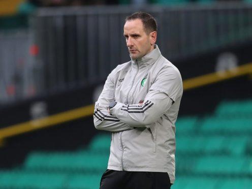 John Kennedy is acting as Celtic interim boss (Andrew Milligan/PA)