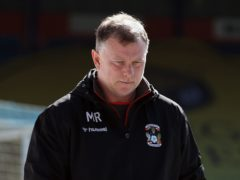 Mark Robins knows his side need to improve away from home (Steven Paston/PA)