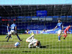 Nottingham Forest's James Garner celebrates scoring (Nick Potts/PA)