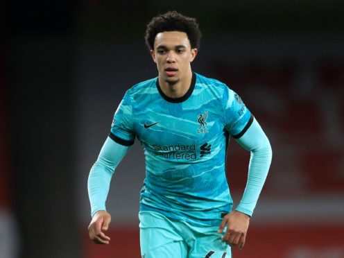 Trent Alexander-Arnold was left out of the latest England squad (Adam Davy/PA)