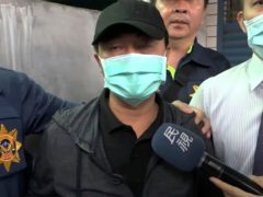 Lee Yi-hsiang, the driver of the truck that caused the train accident (EBC via AP)