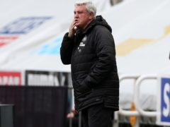 Newcastle head coach Steve Bruce will not take undue risks in the fight for Premier League survival (Scott Hepell/PA)