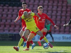 Hector Kyprianou, right, could miss out for Leyton Orient (Yui Mok/PA)