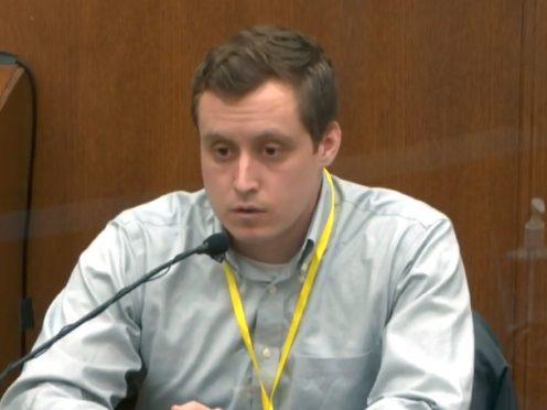 Dr Bradford Langenfeld (Court TV via AP)