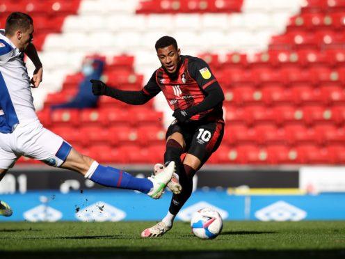 Arnaut Danjuma scores Bournemouth's second goal, having created the first (Martin Rickett/PA)