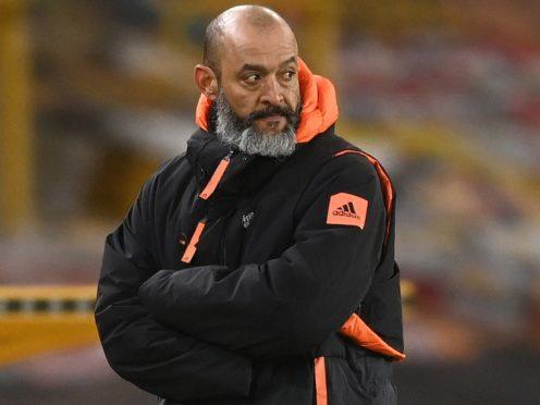 Nuno Espirito Santo has watched Wolves struggle this season. (Michael Regan/PA)