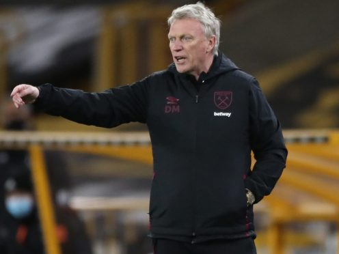 West Ham manager David Moyes is hoping his side can hold on to fourth spot in the Premier League (Nick Potts/PA Images).
