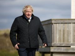 Prime Minister Boris Johnson, during a visit to Cornwall, said 'we will look at all possibilities' (Tom Nicholson/PA)