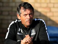 Phil Brown made his return as Southend boss (Steven Paston/PA)