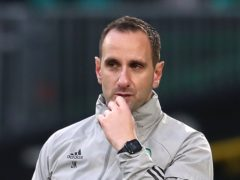 Celtic interim boss John Kennedy is looking forward to his side's meeting with Rangers (Andrew Milligan/PA)
