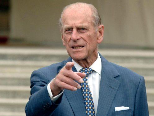 The Duke of Edinburgh (Steve Parsons/PA)