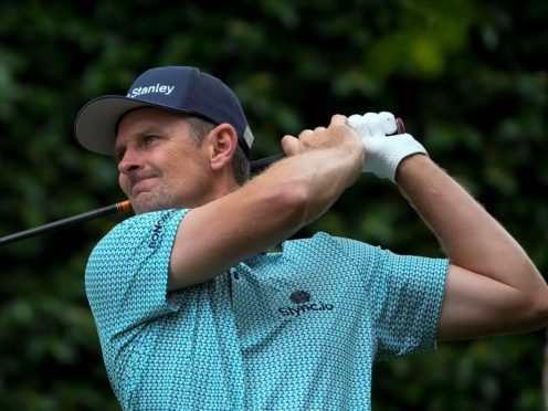 Justin Rose saw his four-shot lead quickly reduced on day two of the 85th Masters (Charlie Riedel/AP)