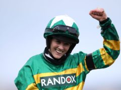 Rachael Blackmore made history at Aintree on Saturday (Tim Goode/PA)