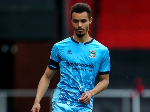 Josh Pask will miss out for Coventry once again (Steven Paston/PA)