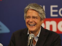 Ecuador will be led for the next four years by conservative businessman Guillermo Lasso after voters rebuffed a left-leaning movement that yielded an economic boom then a recession during a decade in power (Dolores Ochoa/AP)
