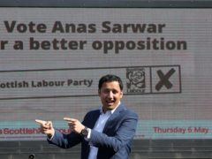 Anas Sarwar has vowed action to tackle pensioner poverty (Andrew Milligan/PA)
