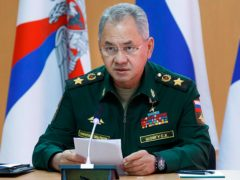 Russian Defence Minister Sergei Shoigu (Vadim Savitsky/Russian Defense Ministry Press Service via AP)