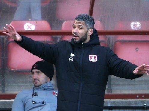 Leyton Orient interim manager Jobi McAnuff (Yui Mok/PA)