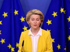 European Commission president Ursula von der Leyen (John Thys, Pool via AP)