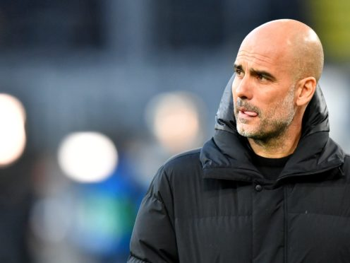 """Pep Guardiola said """"it is not sport where it doesn't matter when you lose"""" (PA/DPA)"""