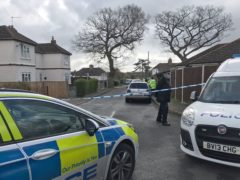 Police activity at Primrose Crescent in Thorpe St Andrew, Norfolk, where a murder investigation has been launched following the fatal stabbing of a man. (Sam Russell/ PA)