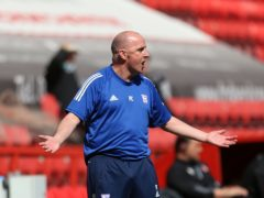 Paul Cook does not want Ipswich's players to be criticsed (Steven Paston/PA)