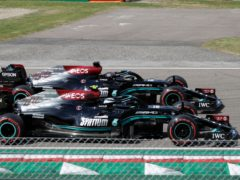 Valtteri Bottas finished fastest in the opening running in Portugal (Luca Bruno/AP)