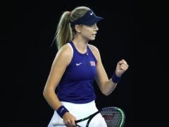 Katie Boulter starred in a Billie Jean King Cup victory over Mexico (Naomi Baker/PA)