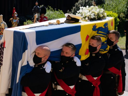 The BBC has defended its coverage of the Duke of Edinburgh's funeral after being hit with complaints (Arthur Edwards/The Sun/PA)