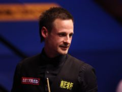 David Gilbert wrapped up victory over Chris Wakelin at the Crucible (George Wood/PA)