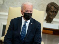 President Joe Biden in the Oval Office of the White House (Evan Vucci/AP)