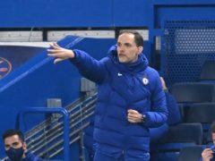 Thomas Tuchel's Chelsea ground out a goalless draw with 10-man Brighton (Neil Hall/PA)