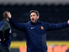 Sunderland manager Lee Johnson is staying positive (Mike Egerton/PA)