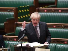 Boris Johnson during PMQs (UK Parliament/Jessica Taylor)