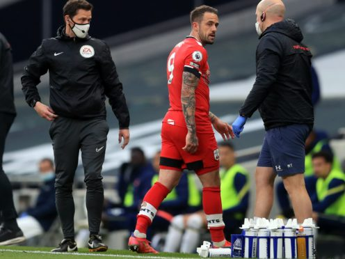 Southampton striker Danny Ings suffered injury in last week's loss at Tottenham (Adam Davy/PA)