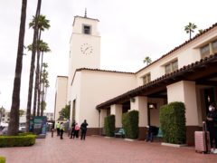 Los Angeles's Union Station will host the Oscars on Sunday (Chris Pizzello/AP)