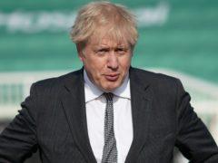 Prime Minister Boris Johnson (Ian Forsyth/PA)